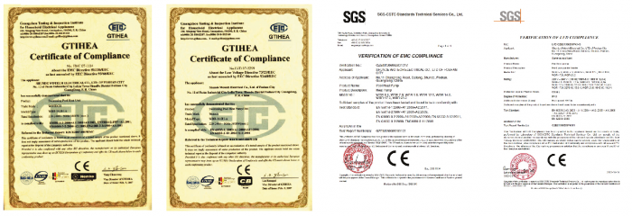 Certification rotax